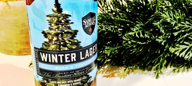 Caveman Beer Reviews: Samuel Adams Winter Lager