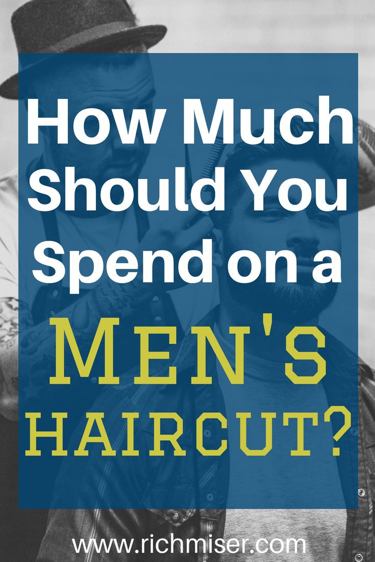 How Much Should You Spend on a Men's Haircut?