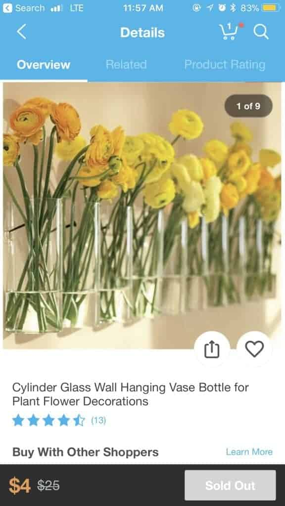 hanging cylinder vases wish app on the wish shopping app