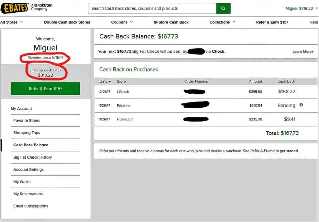 what is ebates? a way to get cash back!