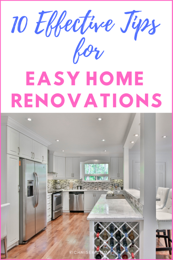 10 Effective Tips for Easy Home Renovations