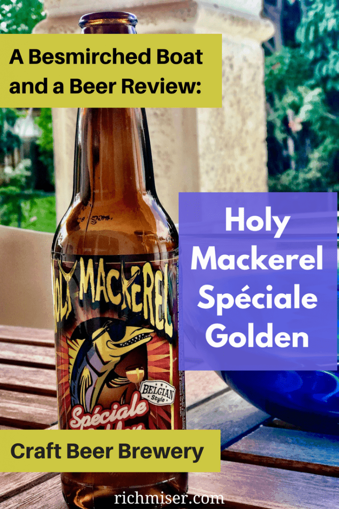 Holy Mackerel Spéciale Golden