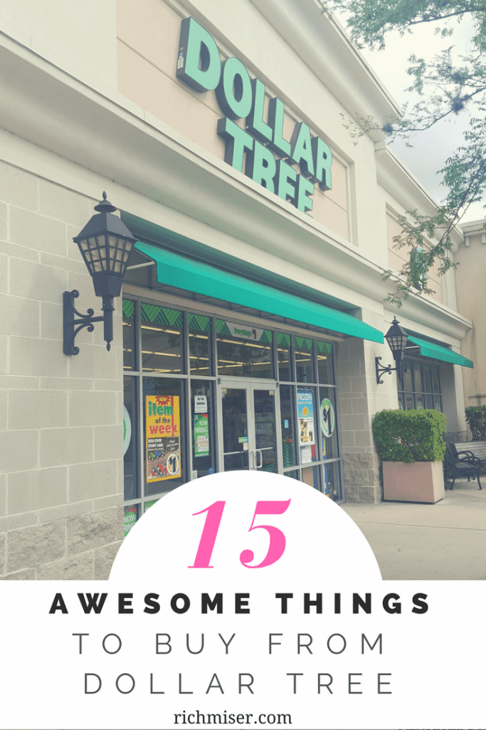 15 Awesome Things to Buy From Dollar Tree