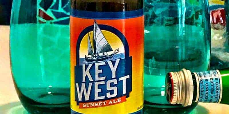 Caveman Beer Reviews: Key West Sunset Ale, from the Conch Republic