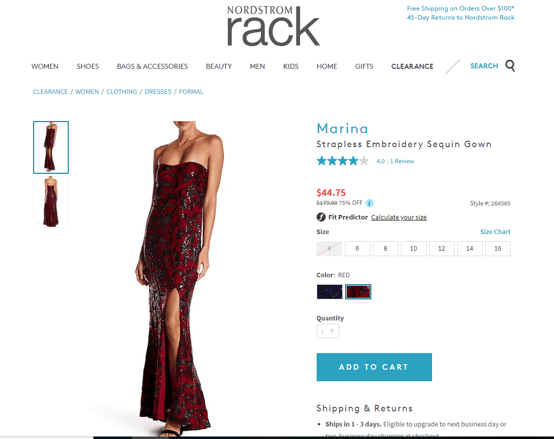 long party dresses