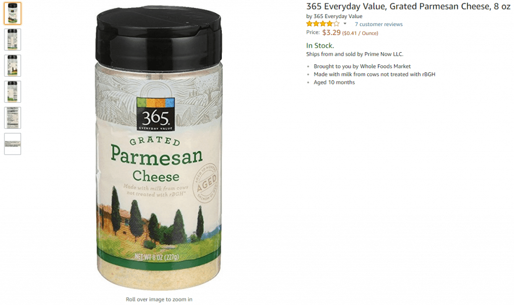 you can get it via prime now for whole foods