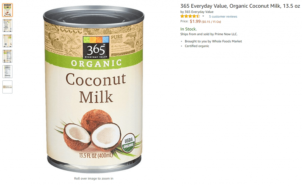 whole foods 365 everyday value