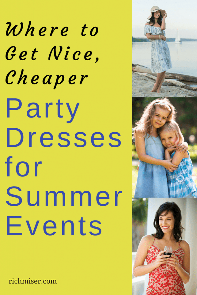 Where to Get Nice, Cheaper Party Dresses for Summer Events
