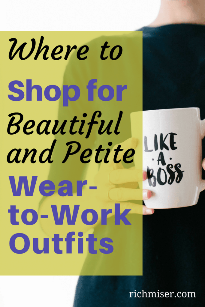 Where to Shop for Beautiful and Petite Wear-to-Work Outfits