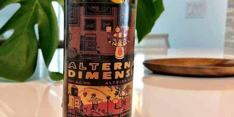 Caveman Beer Reviews: Josephsbrau Alternate Dimension