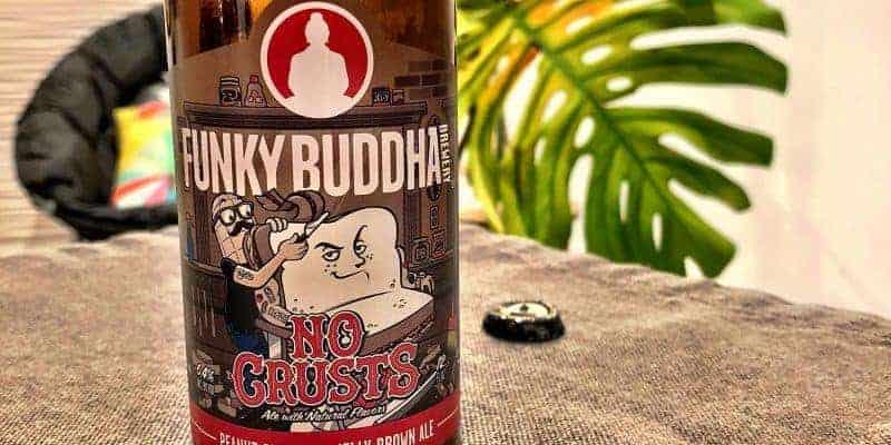 Caveman Beer Reviews: Funky Buddha No Crusts PB&J Brown Ale