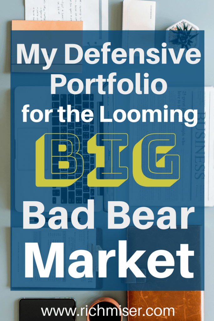 My Defensive Portfolio for the Looming Big Bad Bear Market