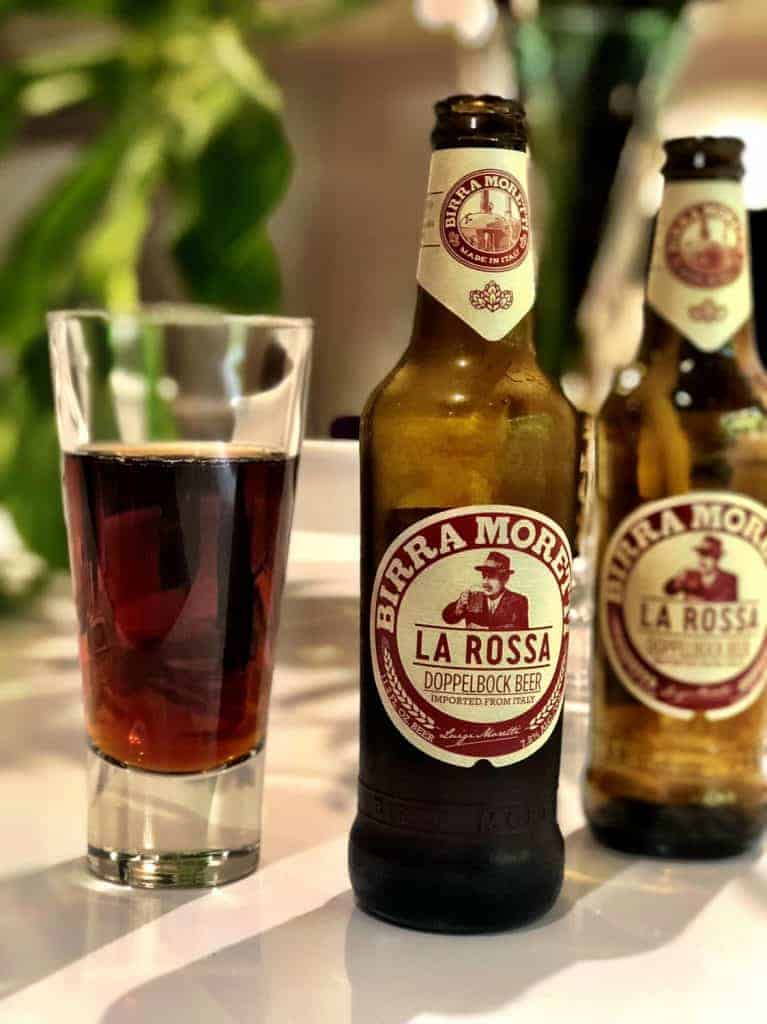 Caveman Beer Reviews: Birra Moretti La Rossa