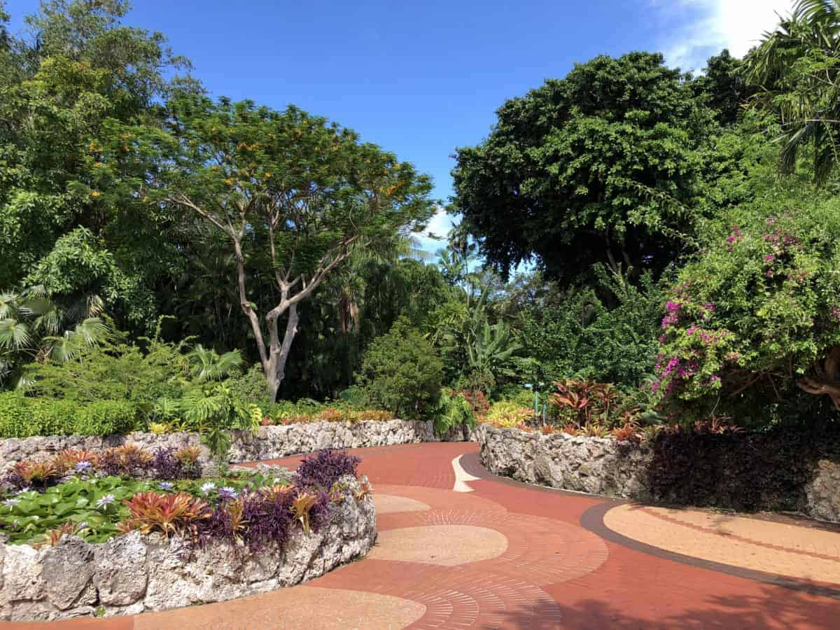 Pinecrest Gardens in a beautiful Miami neighborhood