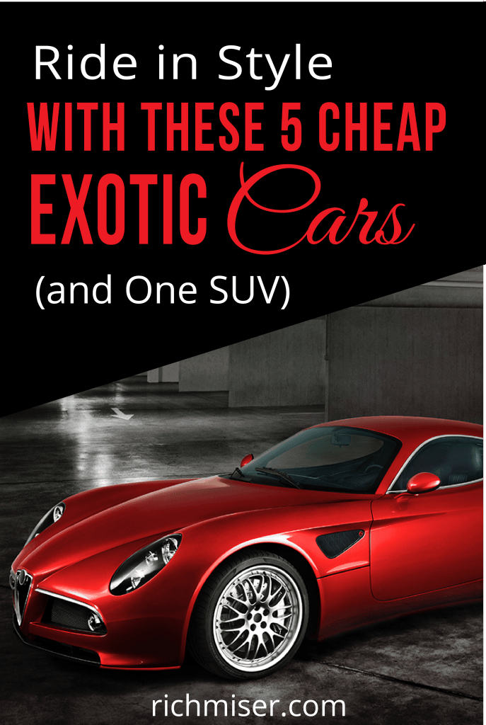 5 Cheap Exotic Cars (and One SUV)