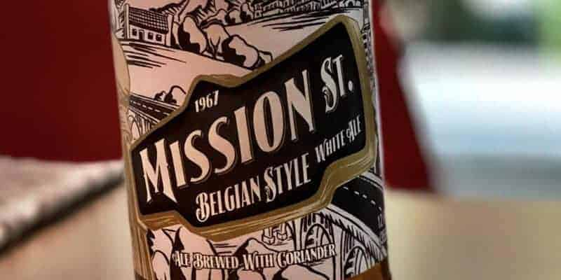 Caveman Beer Reviews: 1967 Mission St. Belgian Style White Ale