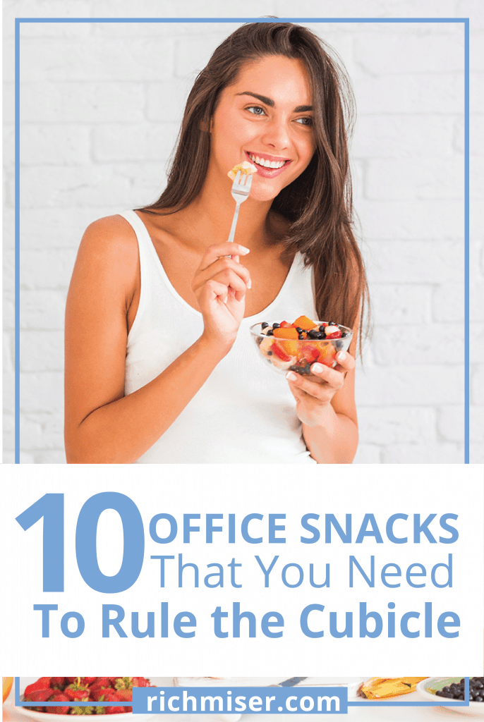 10 Office Snacks That You Need To Rule the Cubicle