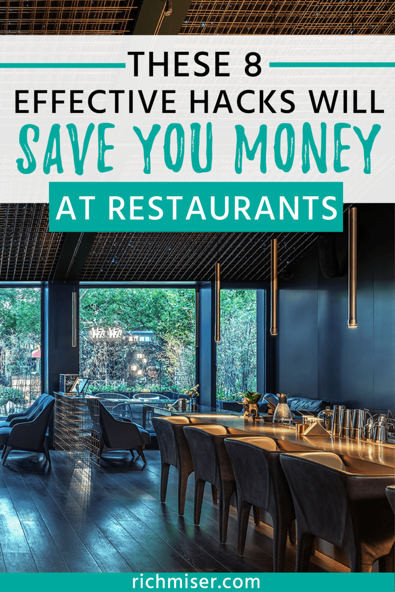 These 8 Effective Hacks Will Save You Money at Restaurants