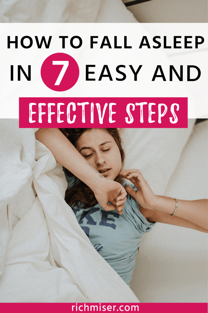 How to Fall Asleep in 7 Easy and Effective Steps