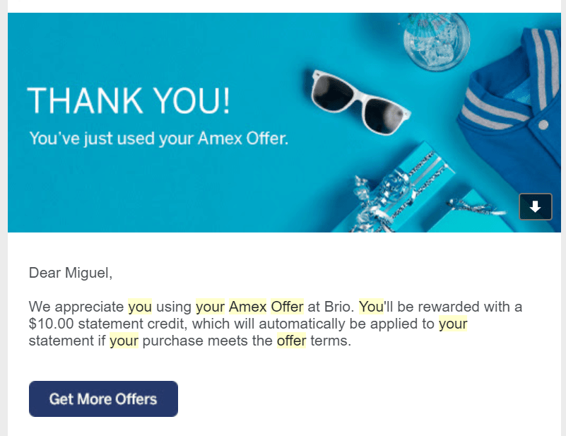 dosh review - amex offers