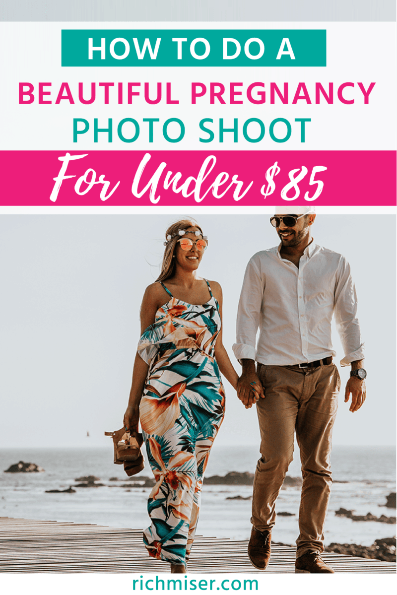 How To Do A Beautiful Pregnancy Photo Shoot For Under $85