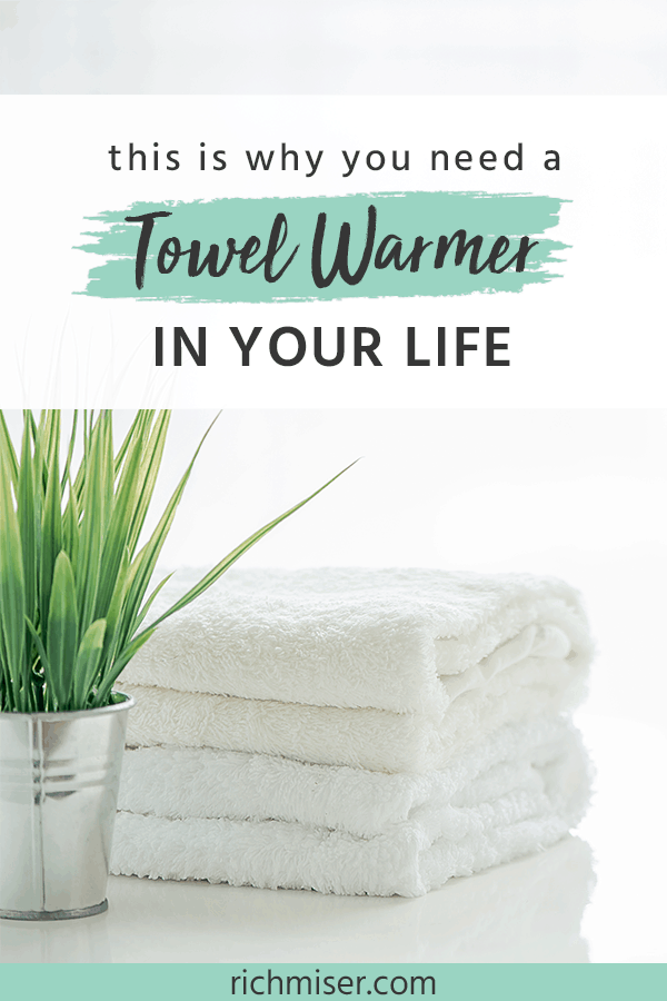 This is Why You Need a Towel Warmer in Your Life