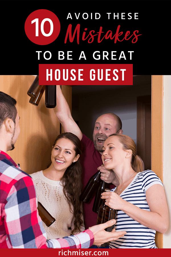 etiquette uncouth guest
