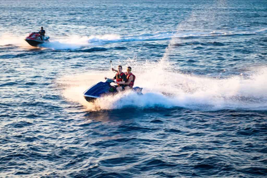 jet ski water activities