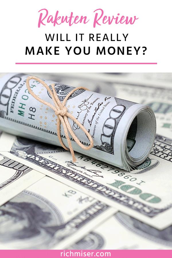 Rakuten Review: Will It Really Make You Money?