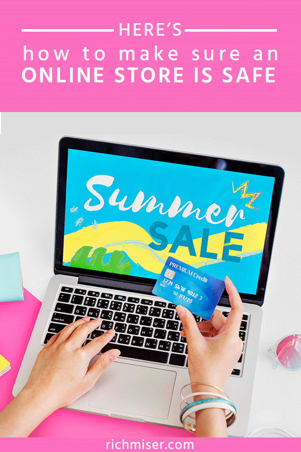 Here's How to Make Sure an Online Store is Safe