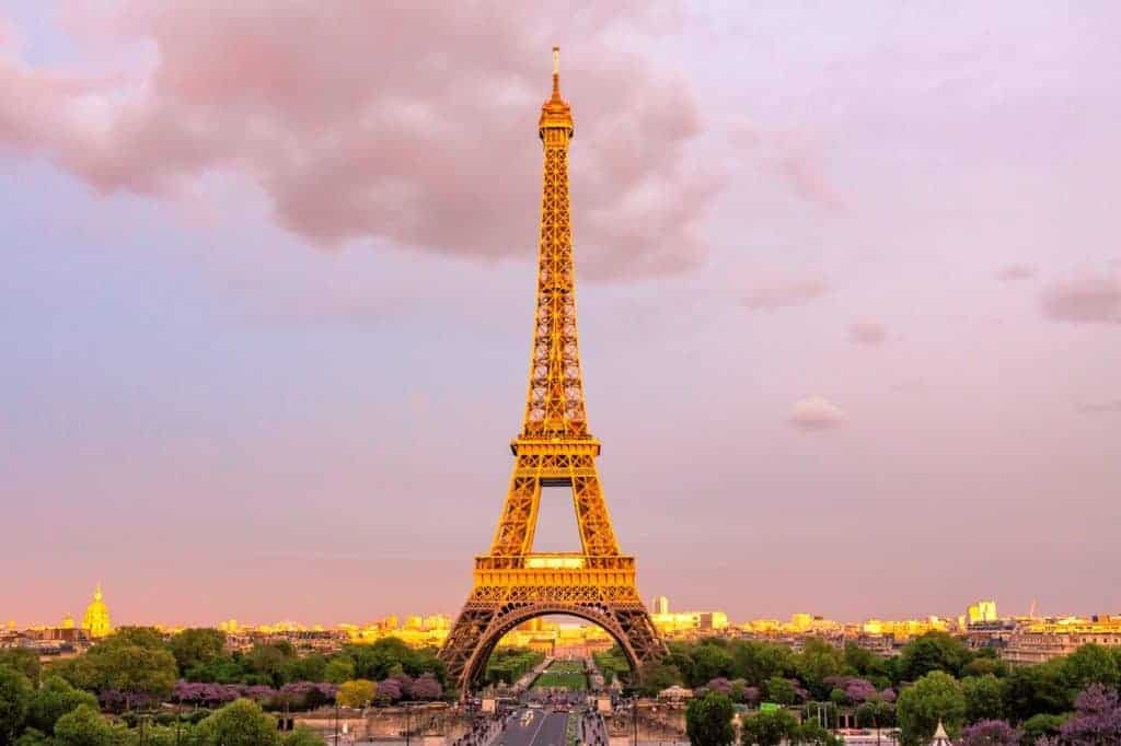 the Eiffel Tower - a center of French culture!