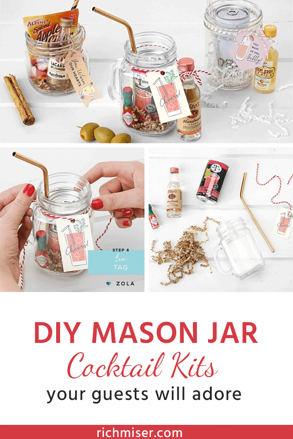 DIY Mason Jar Cocktail Kits Your Guests Will Adore