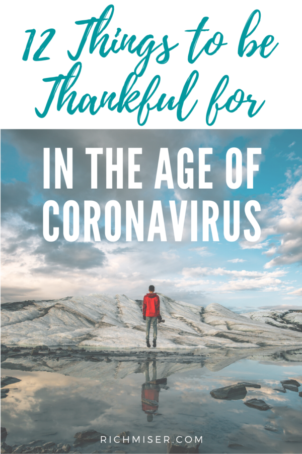 12 Things to Be Thankful for in the Age of Coronavirus