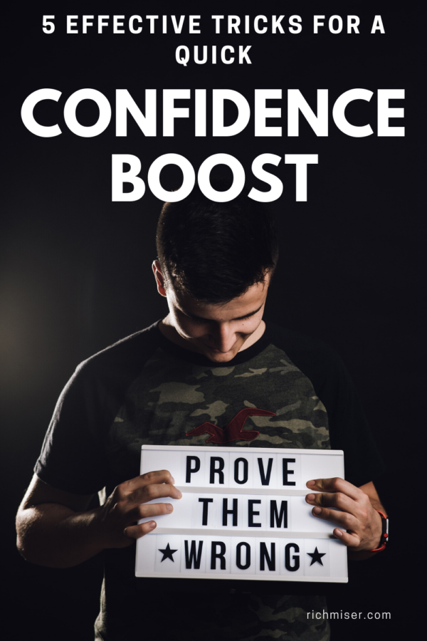 5 Effective Tricks for a Quick Confidence Boost