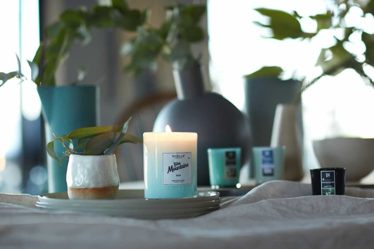 hygge and candles