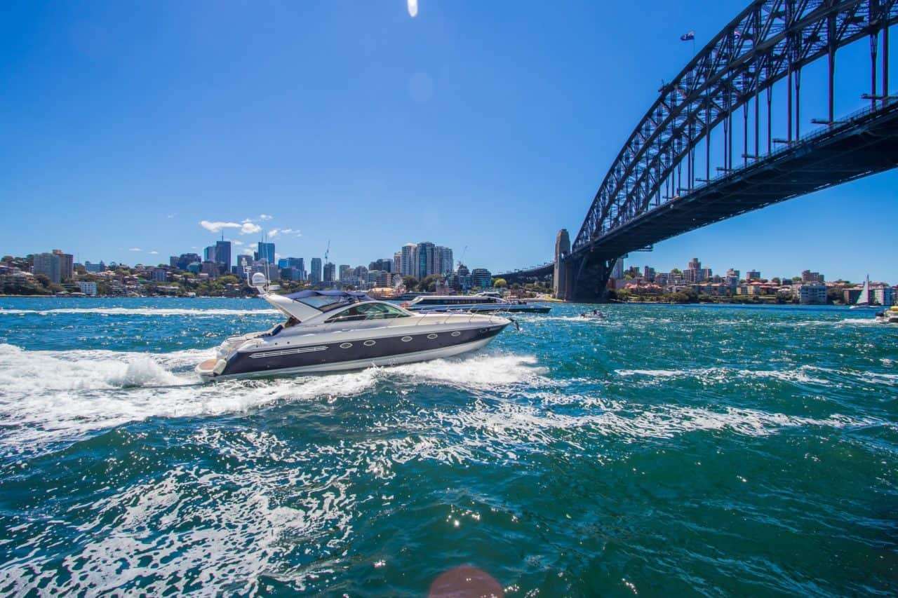 the Sydney Harbor Bridge and an interesting and fun fact about Australia