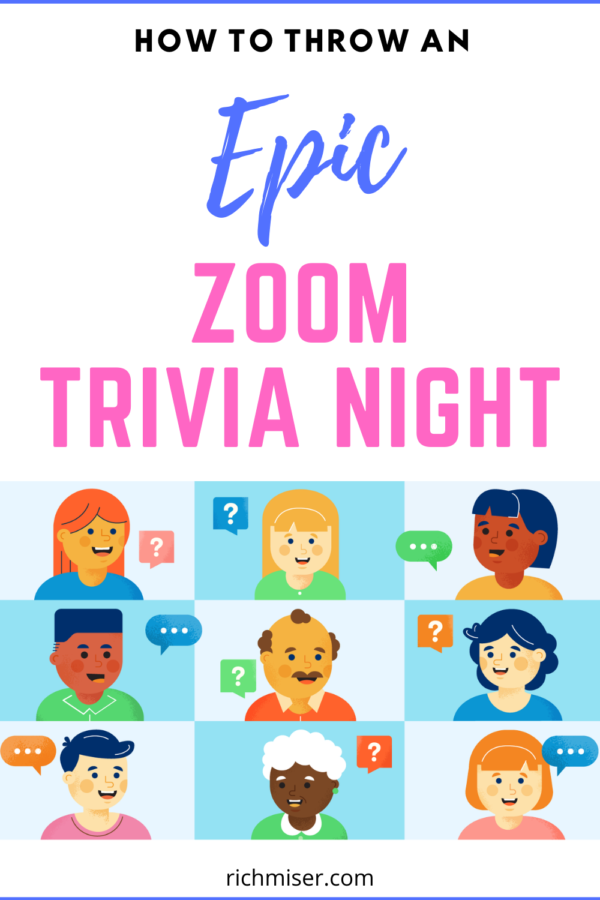 How to Throw an Epic Zoom Trivia Night