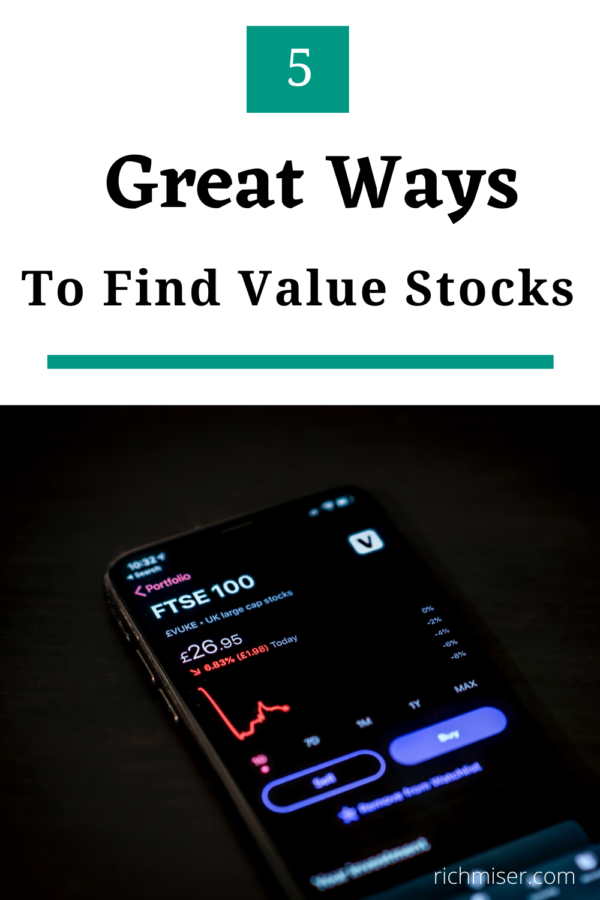 5 Great Ways to Find Value Stocks