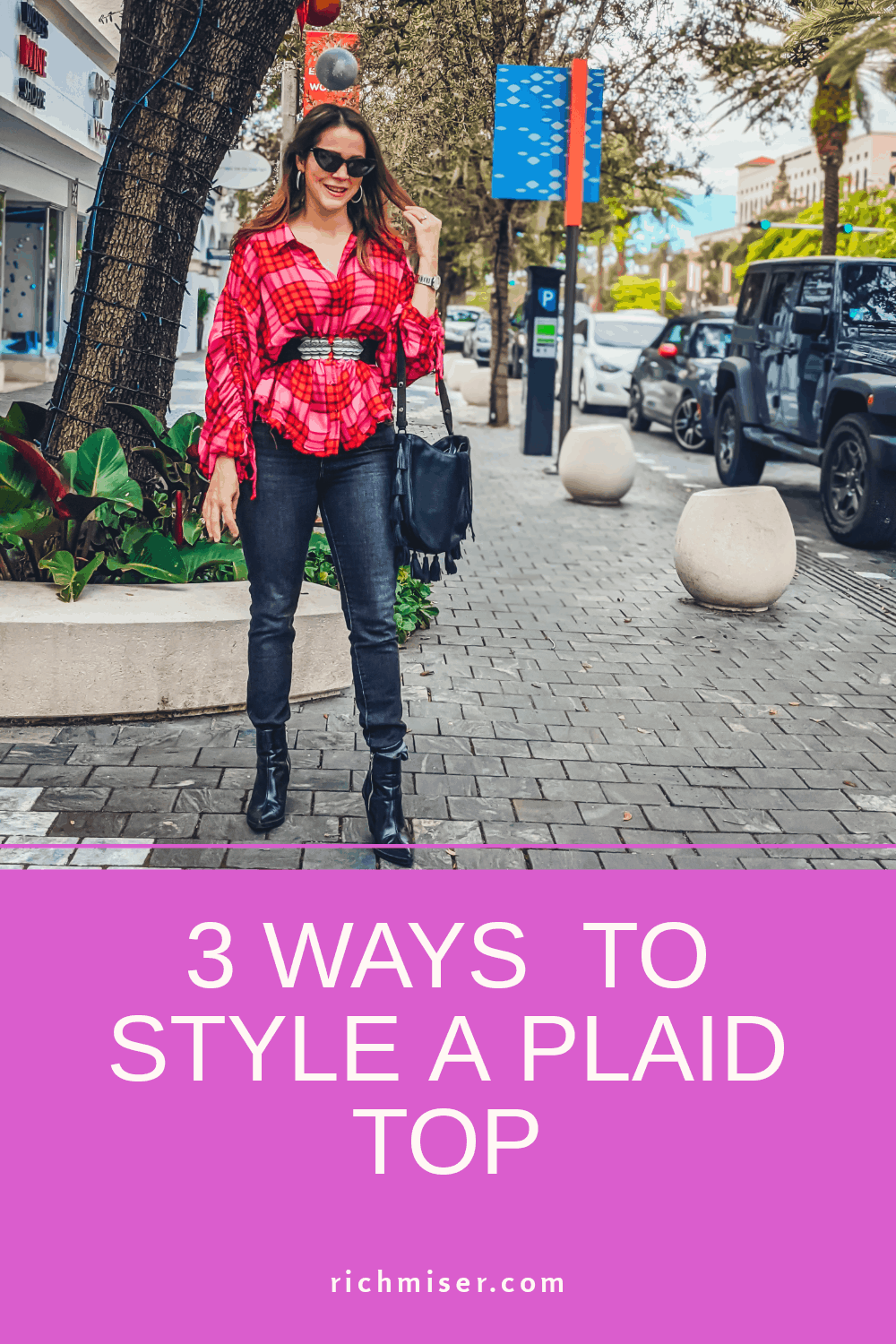 3 Ways to Style a Plaid Top